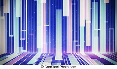 moving rectangulars loopable modern background - moving...