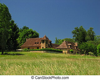 Farm, Manor - Perigord, Qurecy, in Southwest of France