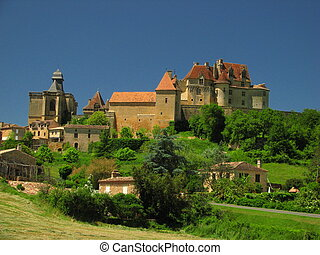 Castle Of Biron, Perigord - Perigord, Qurecy, in Southwest...