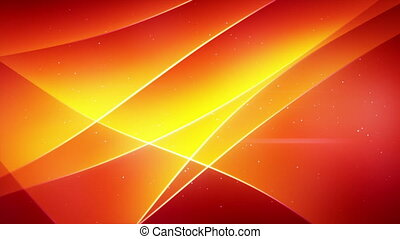 smooth orange waving loopable background