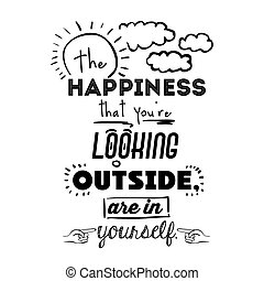 encourage quotes design, over white background, vector...