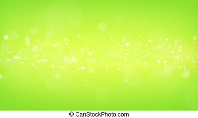 glowing bokeh circles green loop background shallow DOF -...