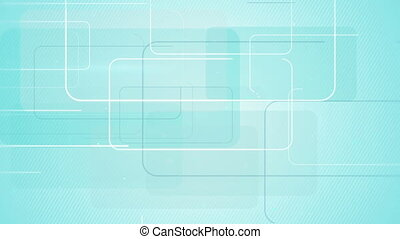 rectangular shapes on blue background seamless loop