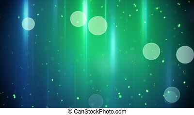 blue green circle and stripe lights loopable background -...
