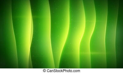 green curved smooth lights loopable background