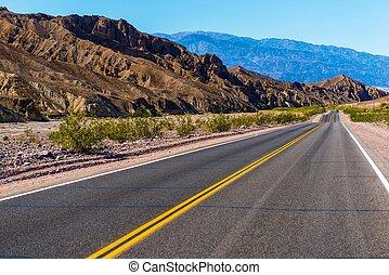 California Desert Highway - Southern California Desert...