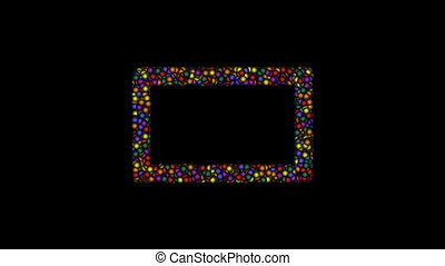 Frame-11-kb - Cyclic animated sequence with title frame...