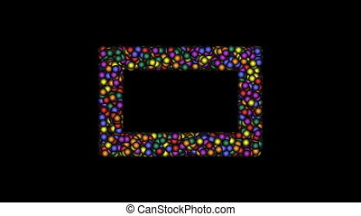 Frame-12-kb - Cyclic animated sequence with title frame...