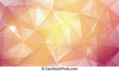 light orange triangles and lines pattern loopable - light...