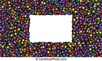 Frame-13-wb - Cyclic animated sequence with title frame...