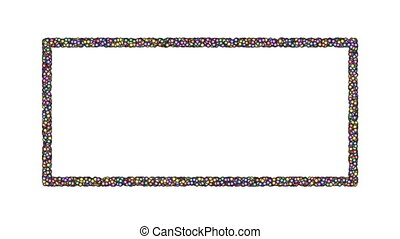 Frame-14-wb - Cyclic animated sequence with title frame...