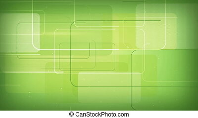 green rectangular shapes seamless loop background