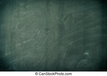 Chalkboard Background XXL - View of a chalkboard with a...