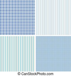 Vector set of seamless patterns - Set of patterns for the...