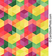 Vector seamless pattern - Vector seamless geometric pattern...