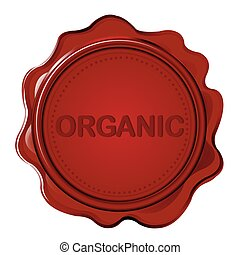 ORGANIC wax seal