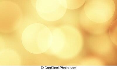 new year 2016 greeting glowing orange particles loop