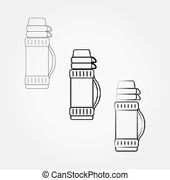 Thermos icon. - Thermos icon set for web and mobile...
