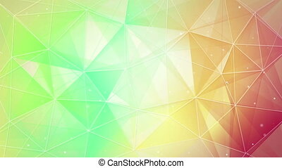 multicolor triangles and lines pattern loopable - multicolor...