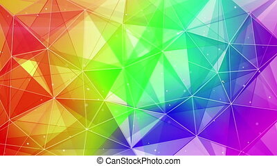 abstract colorful web background seamless loop - colorful...