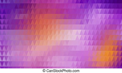 triangles mosaic abstract loopable background
