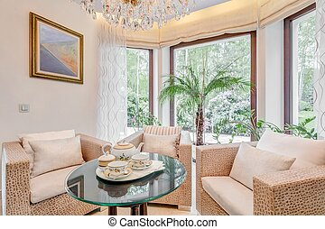 Sitting room in exclusive villa - Picture of sitting room in...