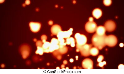 Particle Background Loop - Abstract particle background...
