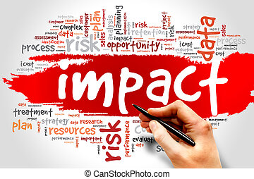 IMPACT - Word cloud of IMPACT related items, presentation...