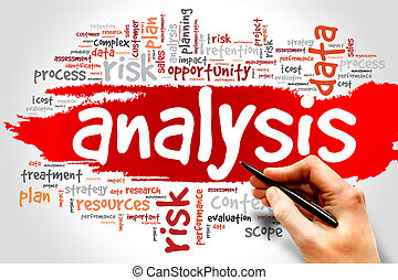 Analysis - Word Cloud with Analysis related tags, business...