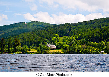 Seascape - Beautiful seascape Titisee , Schwarzwald Germany...