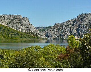 Krka National Park - Krka river in Krka National Park....