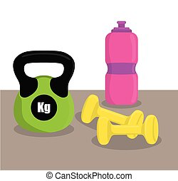 Gym digital design - Gym digital design, vector ilustration...
