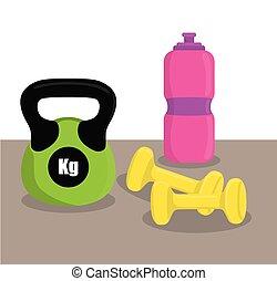 Gym digital design. - Gym digital design, vector ilustration...