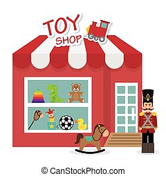 Baby toys design. - Baby toys design over white background,...