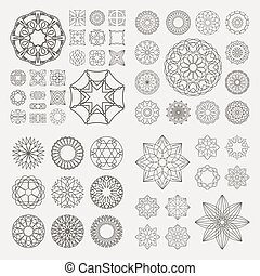 Graphic elements - Collection of different graphic elements...