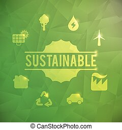 Green energy design - Green energy design, vector...