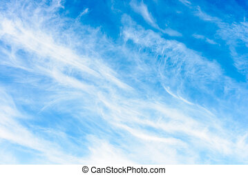abstract sky - realistic abstract sky with white clouds...