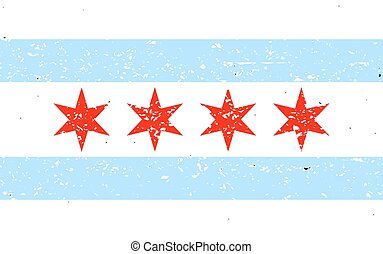 flagga,  Chicago
