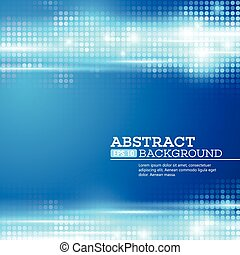 Abstract bokhe lights background. Disco music. Vector...