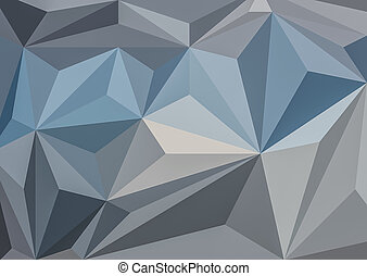 relief triangles - Modern Design. Background with relief...