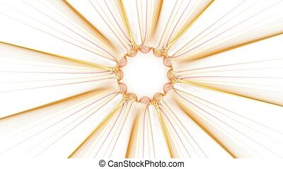Gathering sunlight With alpha ch - HD abstract fractal art...