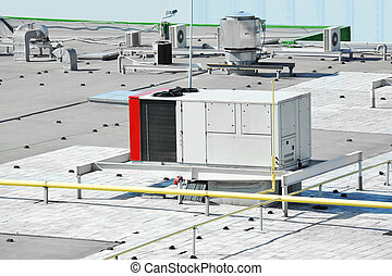 Industrial ventilation system - Industrial air conditioning...