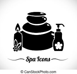Spa icons design - Spa icons digital design, vector...