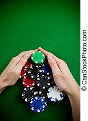 Poker win
