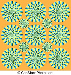 Hypnotic show of rotation
