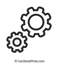 Configurations - Change, configurations, control icon vector...