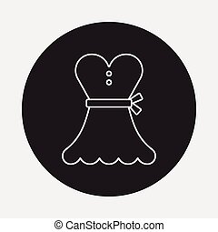 dress line icon