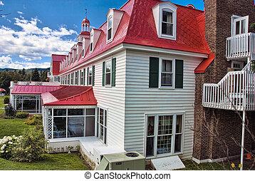 Hotel in Tadoussac, Quebec