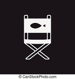 fishing chair icon