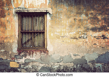 Brick wall background texture, Vintage Style
